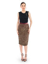 Rocky Star Hand Embroidered Sequin Skirt