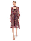 Rocky Star Red Printed Kaftan Dress