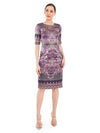 Rocky Star Digital Printed Fitted Dress