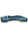 Rocky Star Maya Blue Sofa