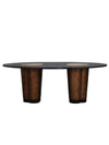 Rocky Star Oval Dining Table