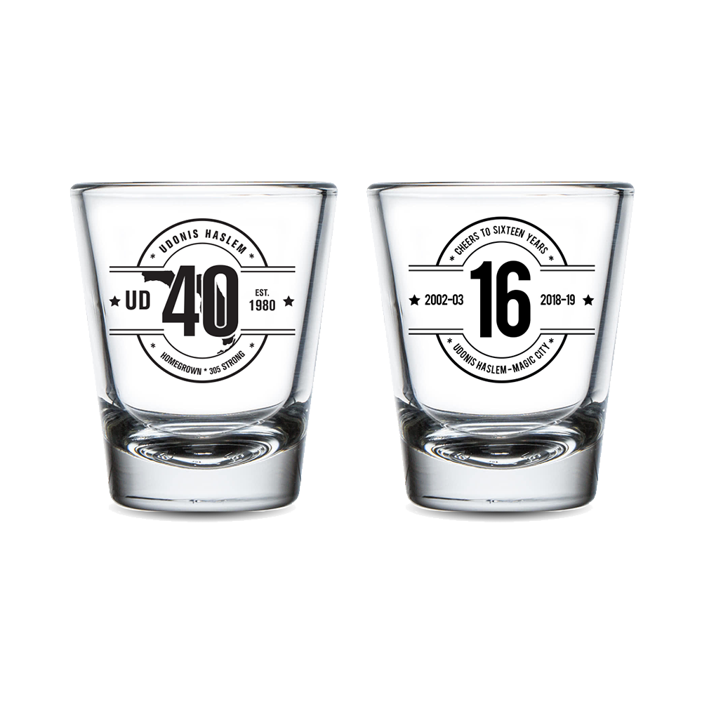 Limited Edition - Cheers To 16 Shot Glasses