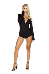 LI211 - Cozy and Comfy Sweater Romper