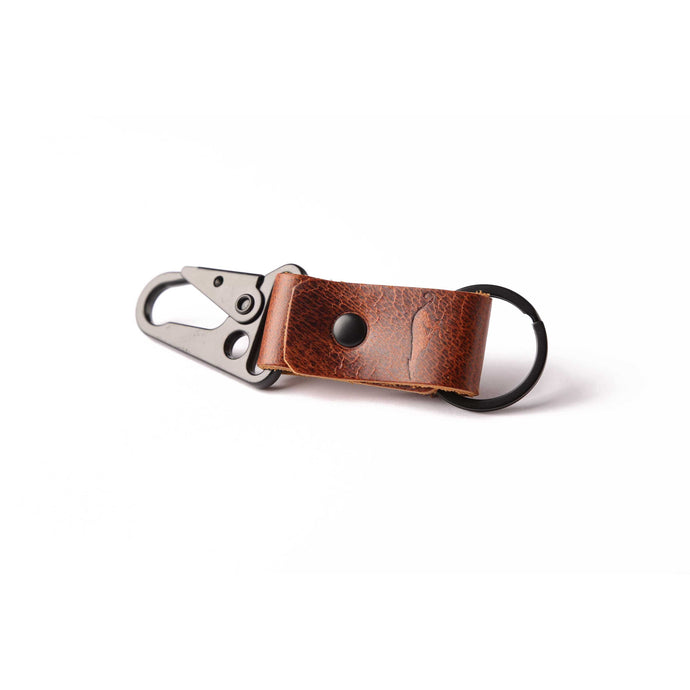 The Uster - Vintage Leather Keychain