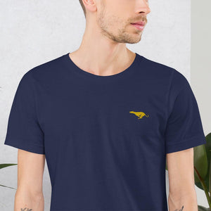 The Golden Whippet T-Shirt - Embroidered - Modestospirit