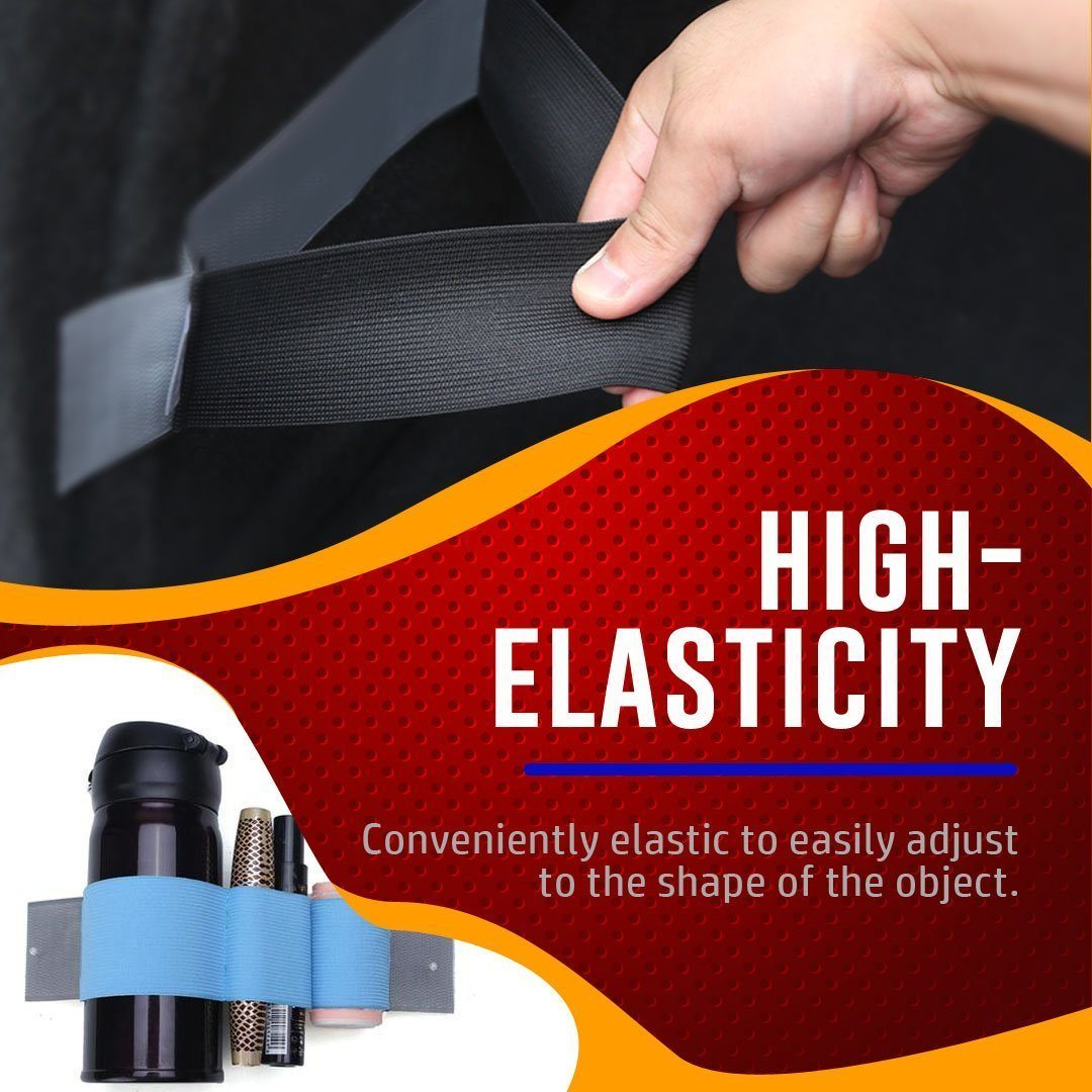 Car Trunk Elastic Organizing Strap