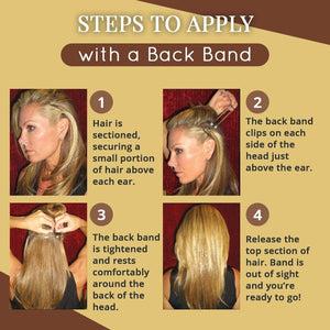 Invisible Face Lift with Back Band