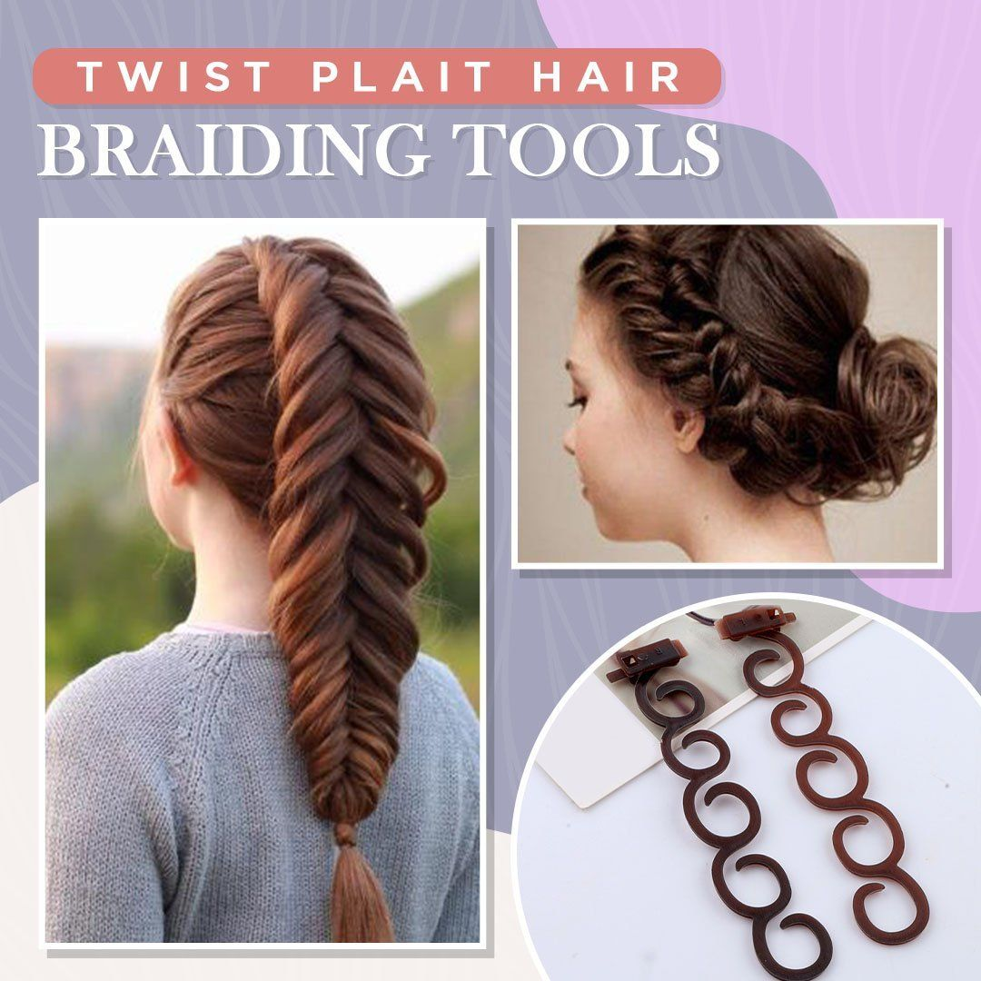 Twist Plait Hair Braiding Tools