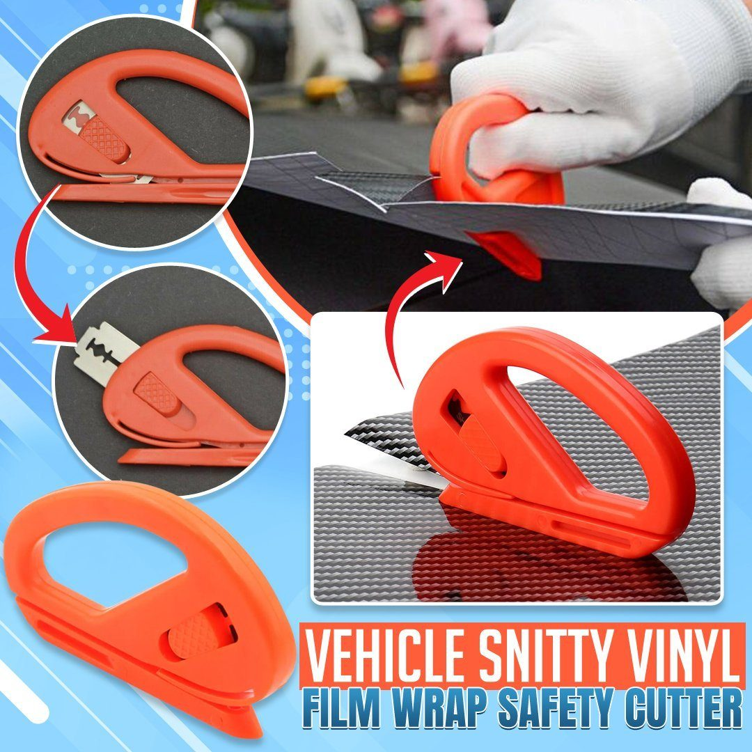 Vehicle Snitty Vinyl Film Wrap Safety Cutter