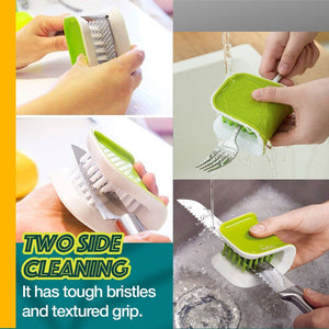U-shape Utensil Silicone Cleaner