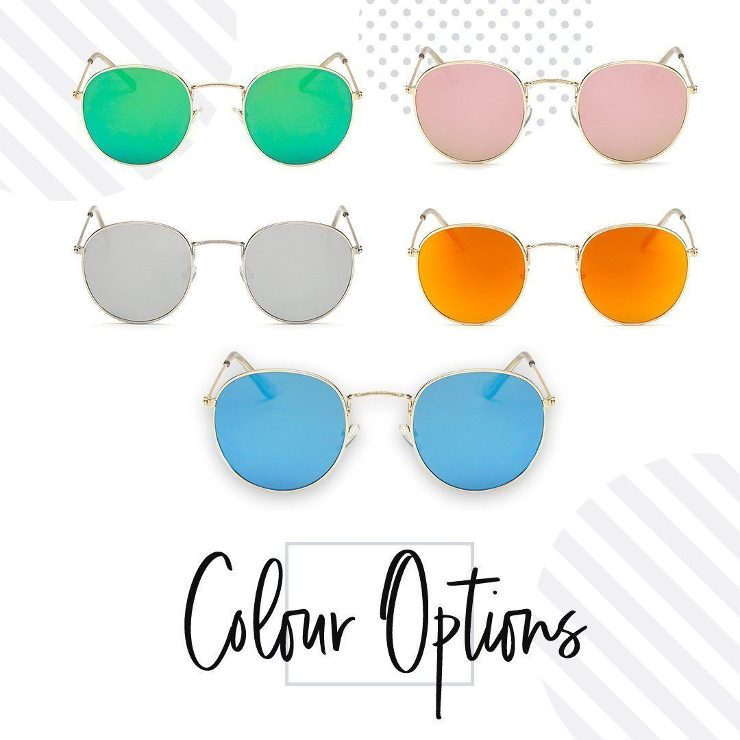 Metal Classic Vintage Women Sunglasses