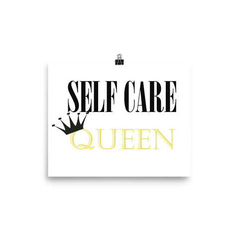 Self Care Queen Poster