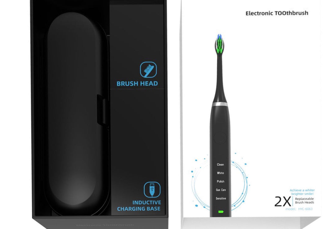 HappyClean™ PRO Premium Advanced Electric Toothbrush