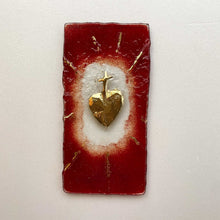 Load image into Gallery viewer, Red Sacred Heart