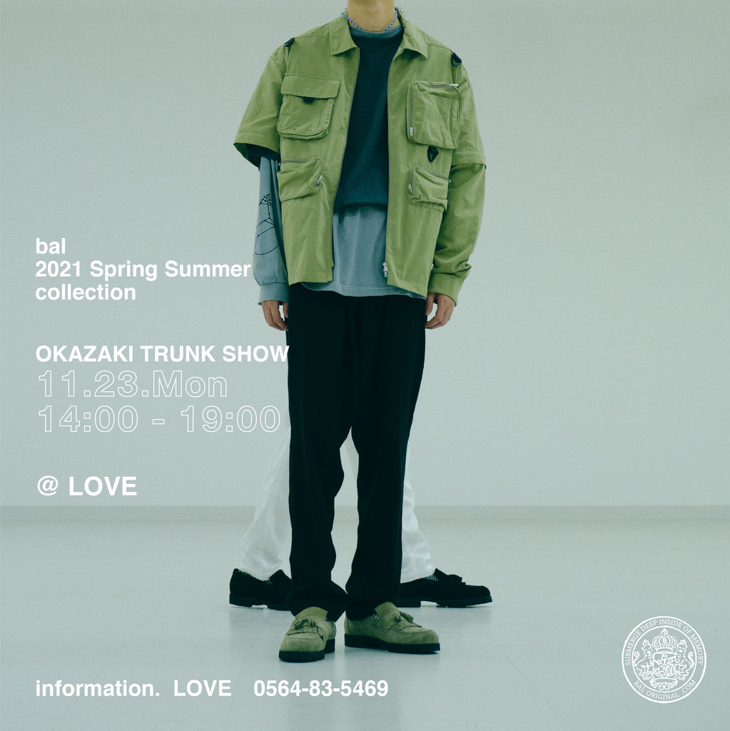 bal 2021 Spring & Summer Collection TRUNK Show at LOVE