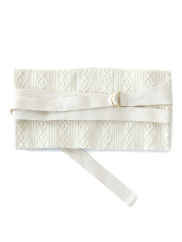 Cable Jacquard Belt