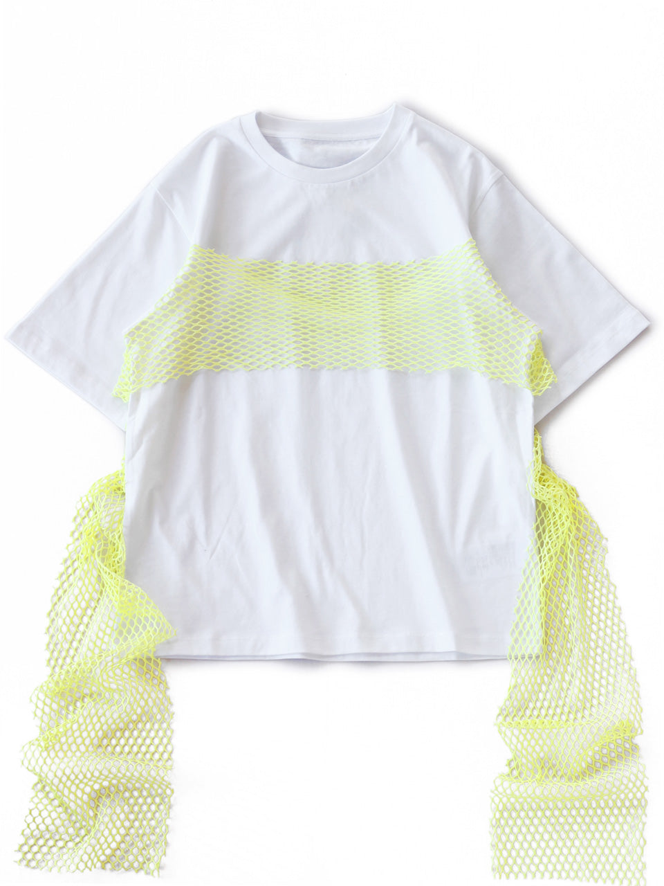 Basic Jersey Tee (white/pale lime)