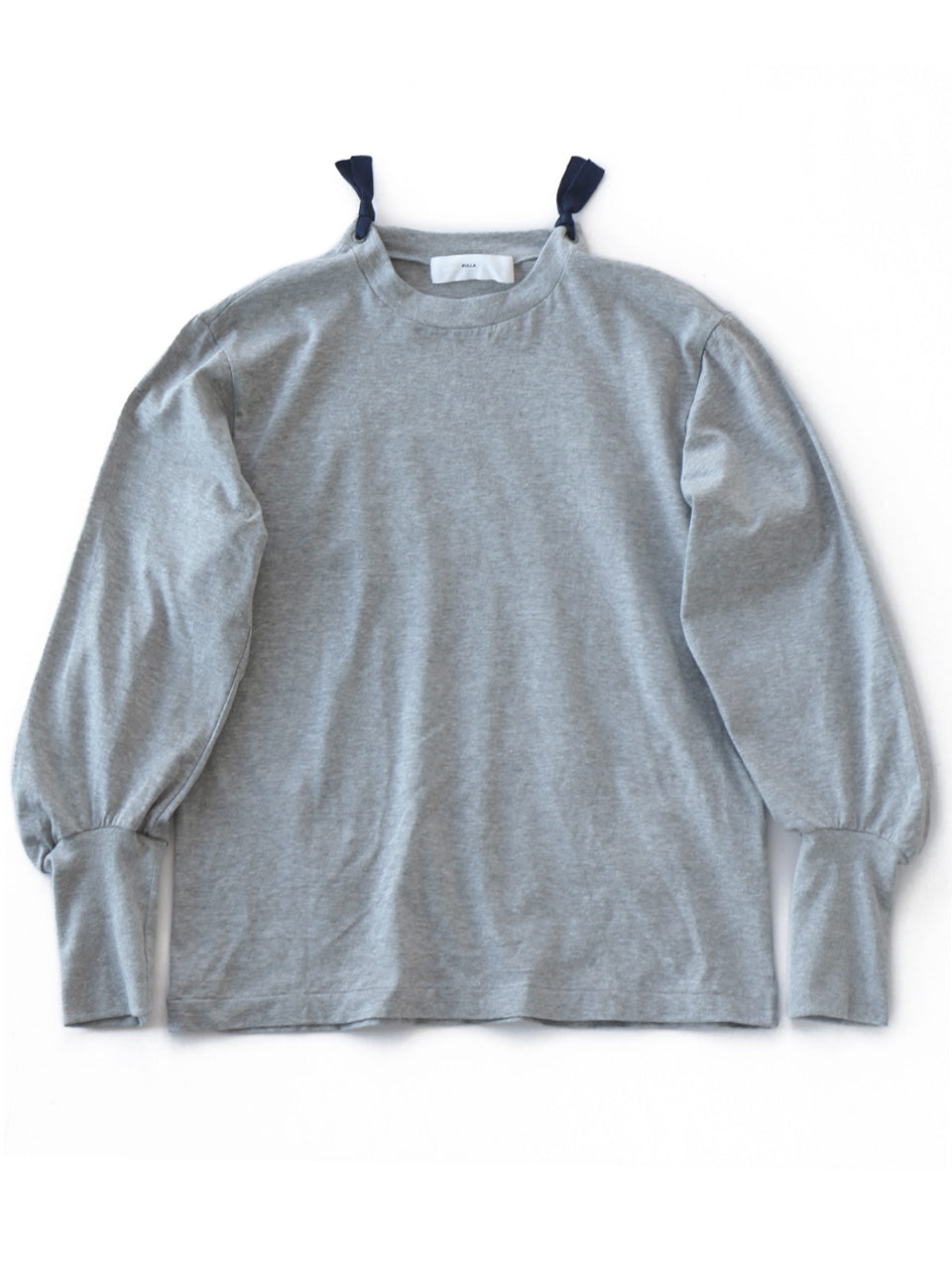 Cotton Jersey Long Sleeve (grey)