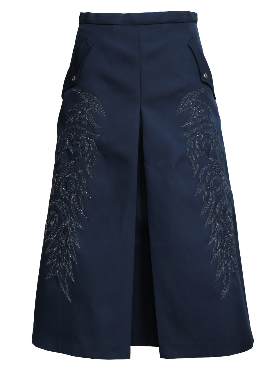 Embroidery Skirt (navy)