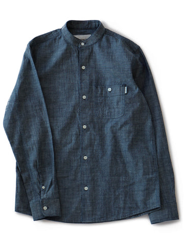 X' L/S Robert Shirt (indigo rinsed)