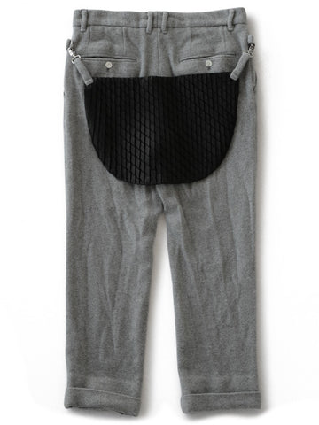 Fulling Wool Slacks (grey)