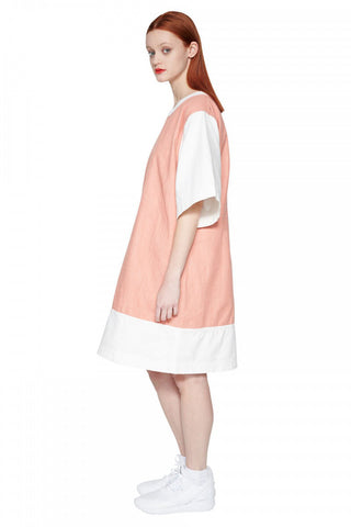 Gaze Oversize Dress (pink/shell)