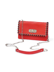 Leather Bag (red)