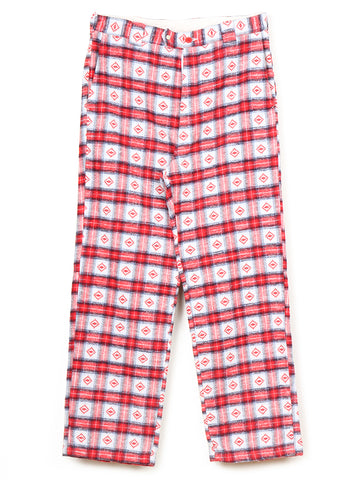 Guess Check 925 Pants (red)