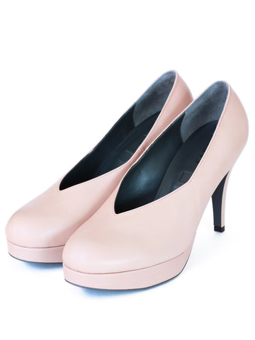 D.pumps (pink beige)
