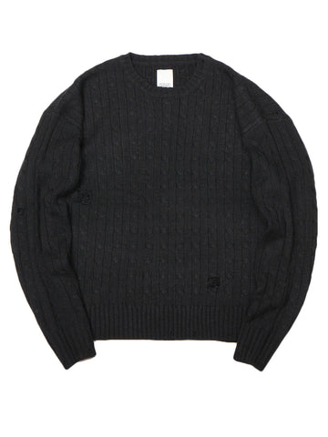 Grown Up Sweater (black)