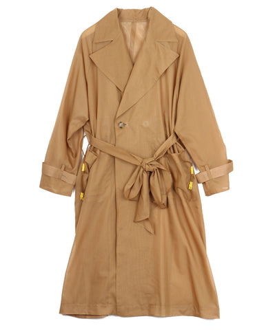 Sheer Reversible Coat (beige)