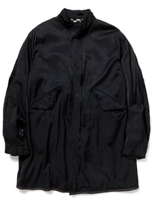 Satin Pacifism Coat (black)