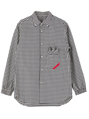 Soup Shirt Gingham Ox (white)