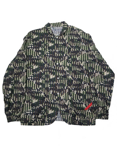 Night Shirt Gauze USK Camo (olive)