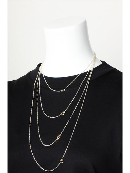 Oval Chain Necklace (40cm)