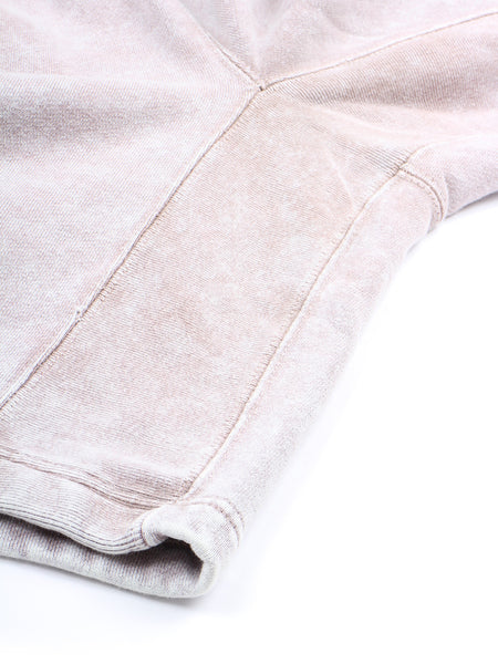 Bleached Sweat Shorts (grey)