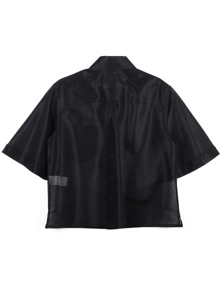 Polyester Mesh Shirt (black)