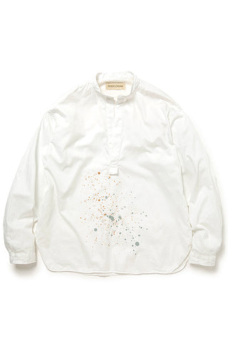 Munny Pullover Shirt Cotton Satin (white)