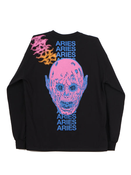 French Monster LS Tee (black)