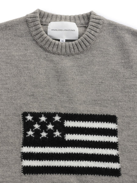 L/S Flag Knit (grey)