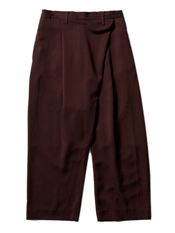 Asymmetric Pants (bordeaux)