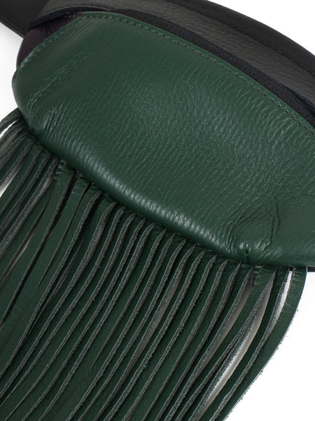 Fringe Waist Porch (black×green)
