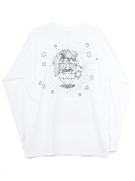 Cosmic Crystals LS Tee (white)
