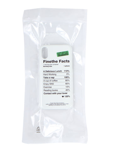 Finethe Facts Case (iPhone X/XS)