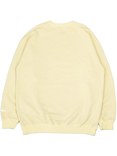 Discus Crew Sweat (light yellow)