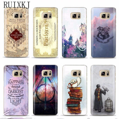 Coque Samsung Galaxy S6 Edge Plus Harry Potter Badges