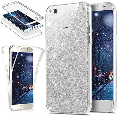Coque Intégrale Huawei P8 Lite Silicone GEL 360 Protection Avant+Arrière  Anti choc