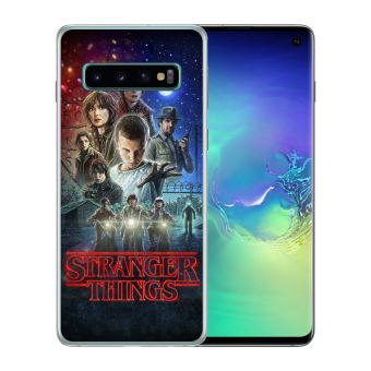 Coque pour Samsung Galaxy S10 Plus stranger things poster
