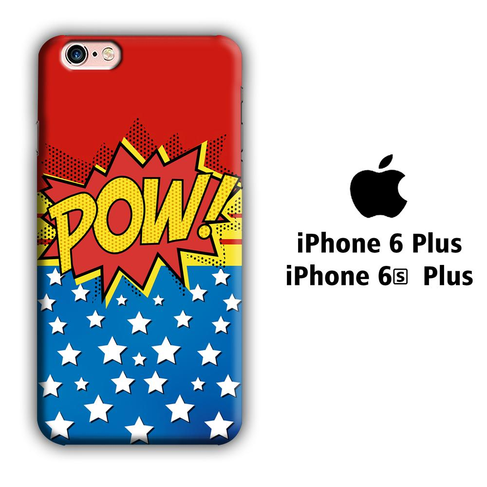 Doodle Pow Star iPhone 6 Plus | 6s Plus 3D coque custodia fundas - Coque Iphone 11√coque samsung S8+√coque huawei P30 roccoscope.fr