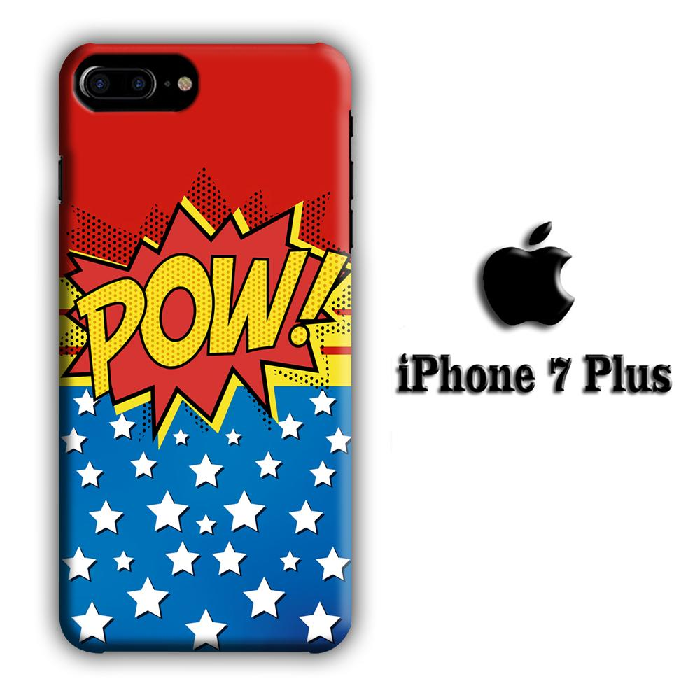 Doodle Pow Star iPhone 7 Plus 3D coque custodia fundas - Coque Iphone 11√coque samsung S8+√coque huawei P30 roccoscope.fr